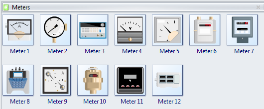 P&ID Meter Symbols
