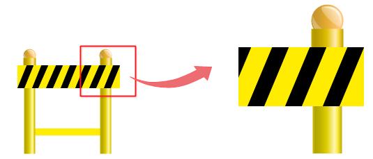 modifier la taille de symboles de sécurité
