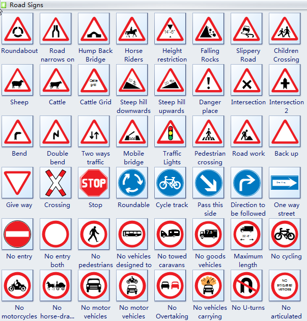 Design Road Signs Instantly
