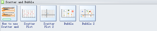 Bubble Plot Symbols