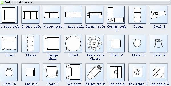 Seating Plan Symbols