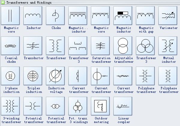 Electrical Schematic Symbols Transformer Electrical Get