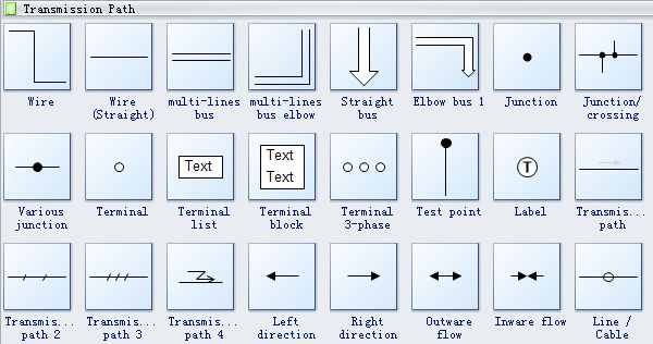 Electrical Drawing Symbols On Industrial Control Schematic Symbols