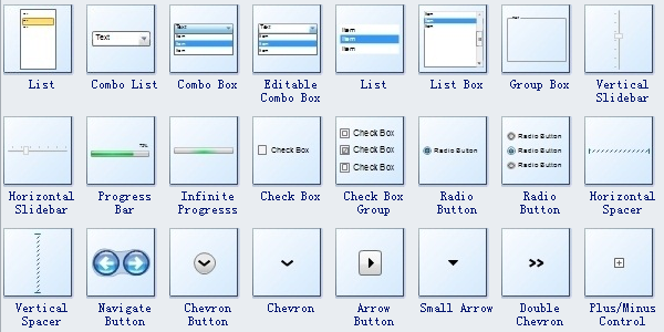 Window UI Wireframe Symbols 2