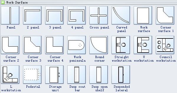 office Layout Symbols 3