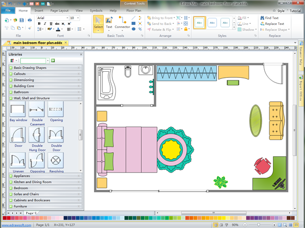 Easy 2d architectural design software Free architecture software