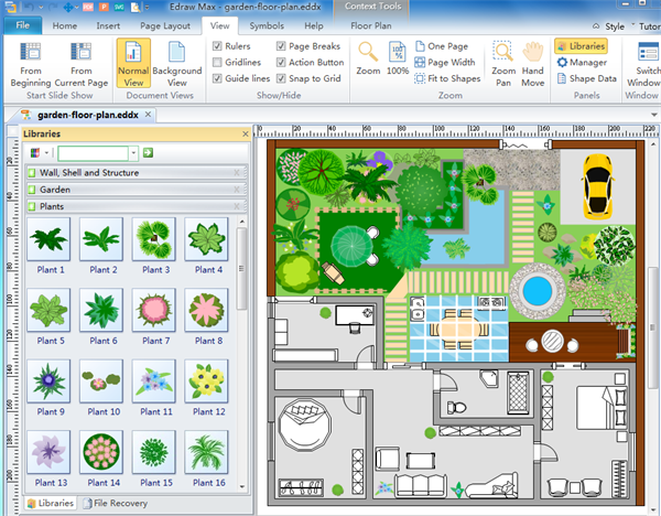 The best easy floor planning tool for Building site plan software
