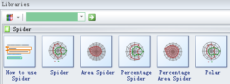 select a spider shape