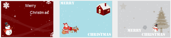 Christmas Card Examples and Templates