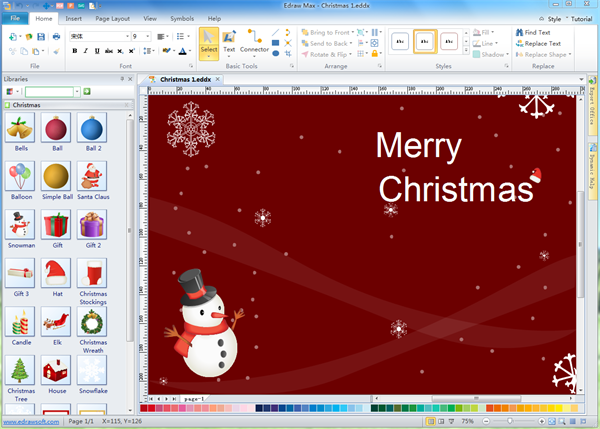 Christmas Card Software Free Download