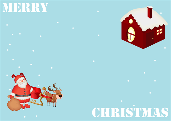 Christmas Card Example Two