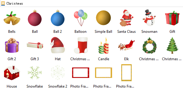 Christmas Card Symbols