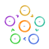 Circle Arrow Loop 2