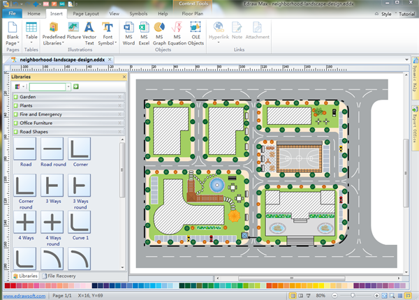 Floor plan design program Software for house construction plan