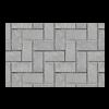 Allée de briques