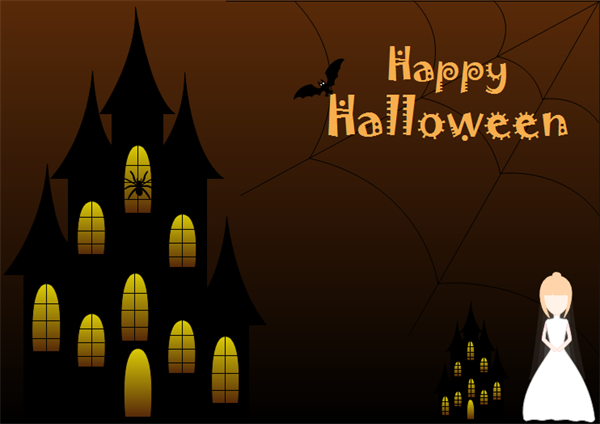 Halloween Card Example