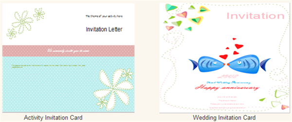 Invitation Card Examples and Templates