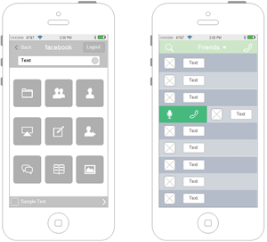 iPhone UI Examples