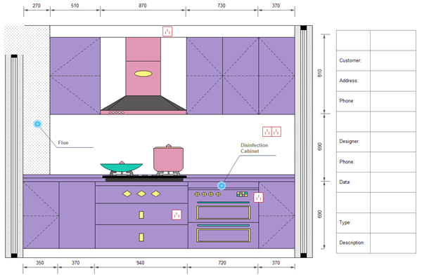 Free printable kitchen layout templates download for Kitchenette layout