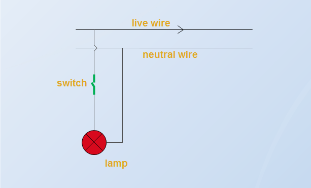 AC Circuit For Lamp