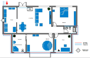 Home Plumbing And Piping Plan Examples