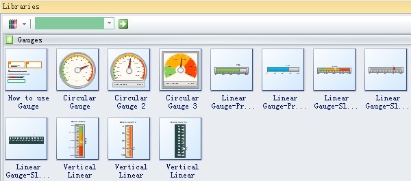 Select Gauges Shape