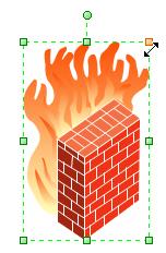 adjust firewall size
