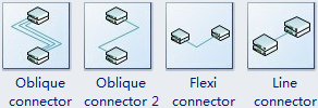 3D Network Connector Symbols