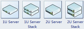 Network server shapes
