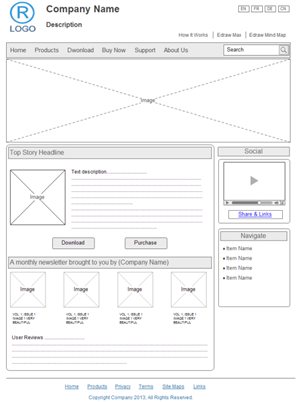 website wireframe300 wireframe examples site design wireframe diagram at readyjetset.co