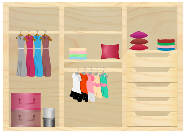 wooden Wardrobe Design Example