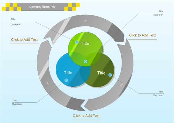 3 Circles Venn Diagram Templates And Examples