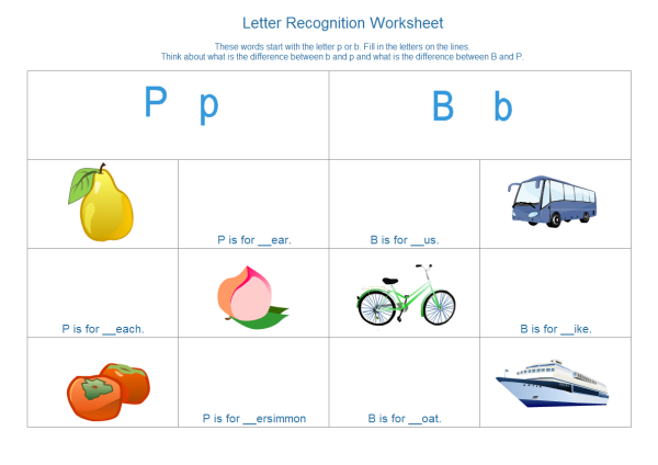 Alphabet Worksheet Template