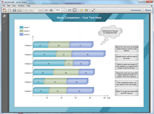 PDF Bar Chart Template