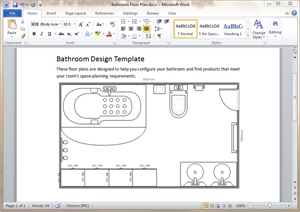 Free Bathroom Plan Templates for Word, PowerPoint, PDF