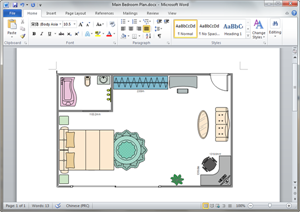 Free Bedroom Plan Templates For Word PowerPoint PDF