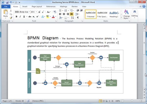 Bpmn diagram templates for word word bpmn diagram template cheaphphosting Gallery