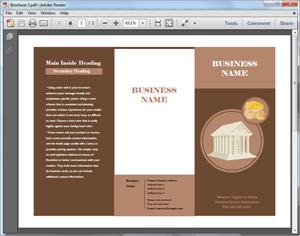 Plantilla de Folleto en PDF