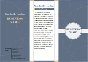 Business Brochure 300