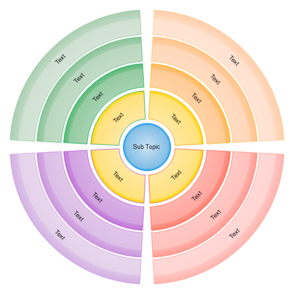 Circular Diagram Template