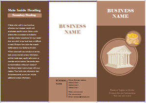 Customizable Brochure Templates Free Download - Company brochure templates free download