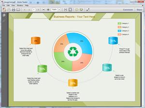 PDF Donut Chart Template