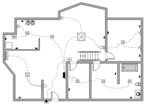 Electrical and Telecom Plan | Floor Plan Solutions