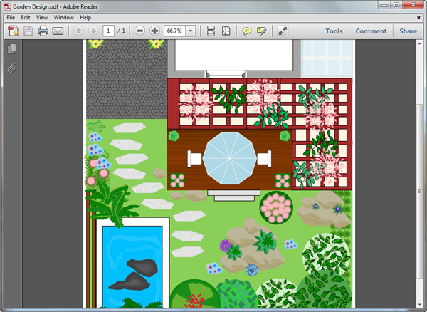 Garden Design Templates for PDF