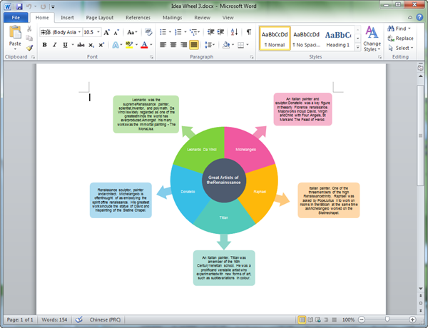 Graphic organizers templates for word for Microsoft word graphic design