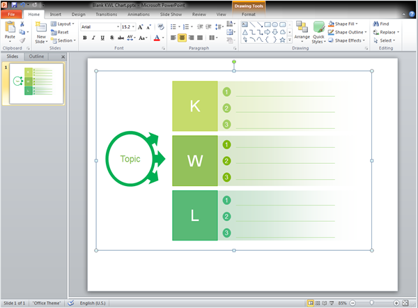 Graphic Organizers Templates For Powerpoint