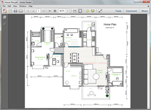 PDF Home Plan Template