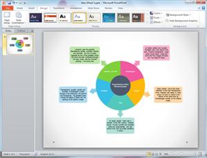 Free Idea Wheel Templates for    Word     PowerPoint  PDF