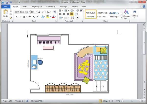 Kids room plan templates for word for Kids room planner