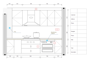 Kitchen Elevations | Elevation Diagram Solutions